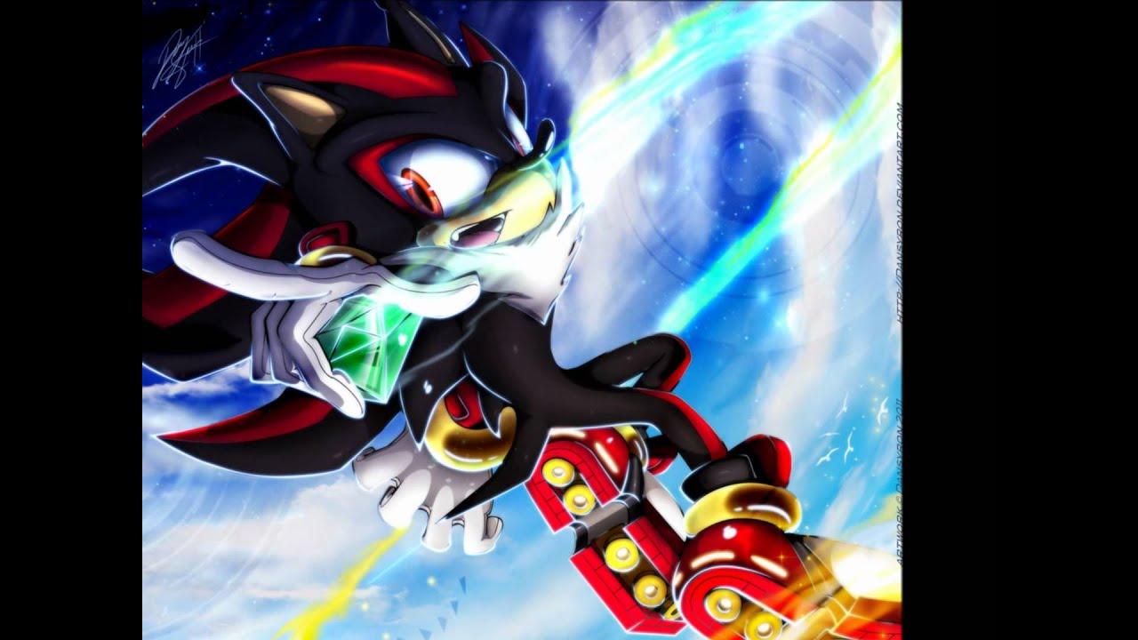 Shadow The Hedgehog  Angel With A Shotgun