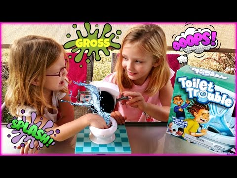 TOILET TROUBLE GAME - Magic Box Toys Collector
