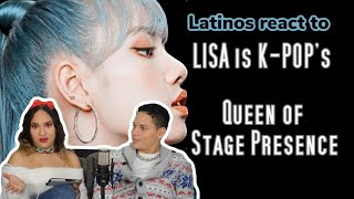Latinos react to LISA, QUEEN OF STAGE PRESENCE 👀🔥 REACTION VIDEO FEATURE FRIDAY
