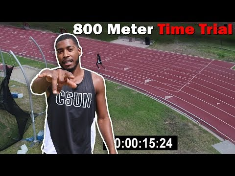 How Fast Can I Run 800 Meters? Running Speed Test!