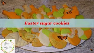 How to make amazing Easter sugar cookies. Very easy recipe