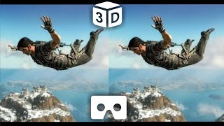 SkyDive VR Video 3D for VR Box Virtual Reality 3D not 360 VR