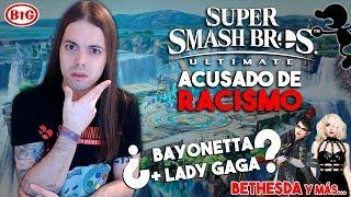 ¡ACUSAN a SMASH BROS de RACISMOI! | ¿LADY GAGA + BAYONETTA? | ¡BETHESDA ORGULLOSA de SWITCH! Y más