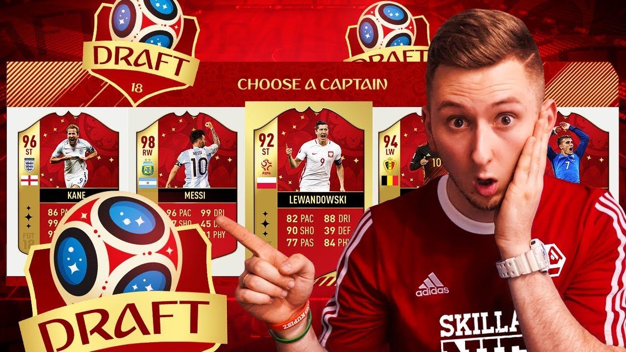 DRAFT MISTRZOSTW ŚWIATA  – FIFA 18 CHALLENGE [#10]