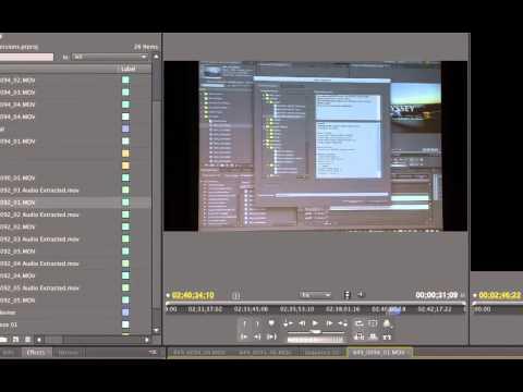 Learn Premiere Pro CS5 - Add multiple transitions