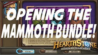 Hearthstone: Opening the Mammoth Bundle (Year of the Mammoth Packs)
