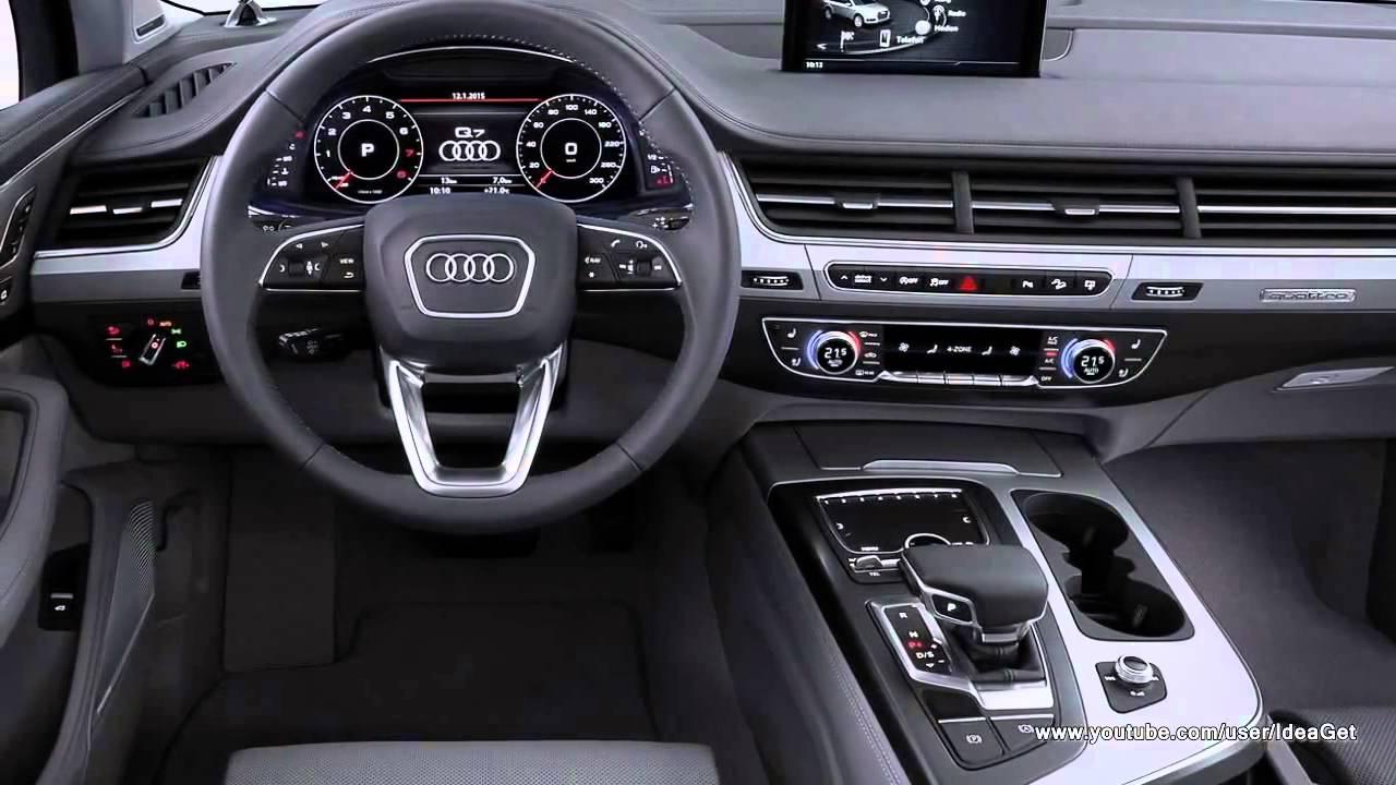 2016 Audi Q7 Interior | Olivero