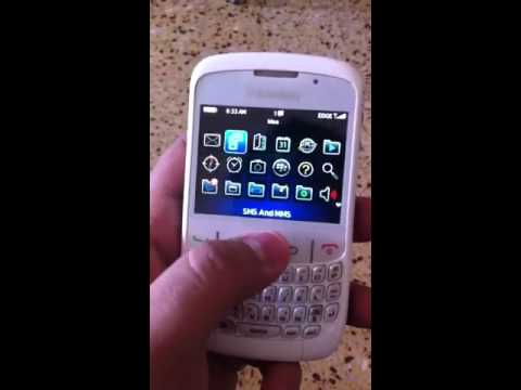 (SOLD) - Used BlackBerry Curve 8520 (White)