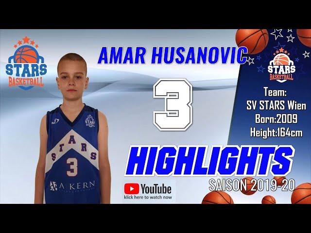 Stars Highlights Factory :AMAR HUSANOVIC Saison 2019-20