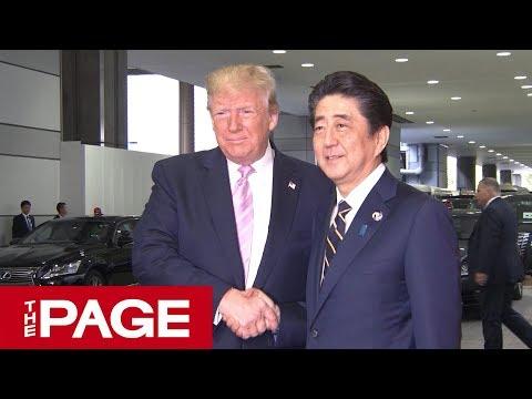 G20 まもなく開幕へ 各国首脳が会場に到着(2019年6月28日)