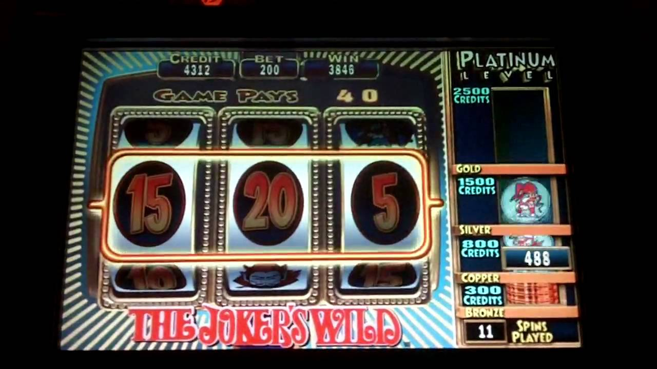 Jokers wild slot machine crazy monkey slot machine game