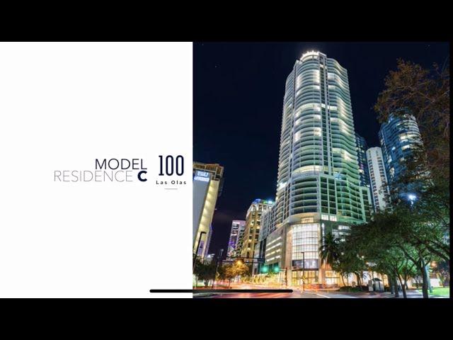 100 Las Olas Condo Model Residence 2803