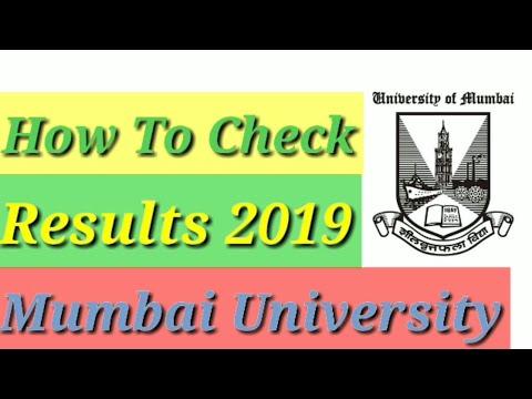 How To Check RESULTS 2019 MUMBAI UNIVERSITY