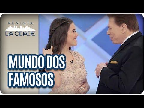 Maisa, Silvio Santos e Fábio Assunção - Revista da Cidade (28/06/2017)