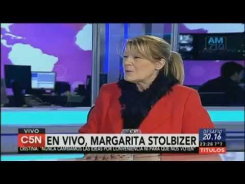 Margarita Stolbizer en Desafío 20 16 con Marcelo Zlotogwiazda