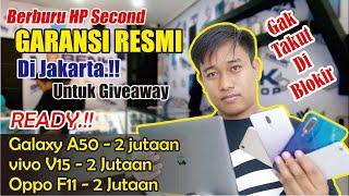 Gambar cover Berburu HP Second RESMI TerMURAH!!di BBENK Phoneshop JAKARTA
