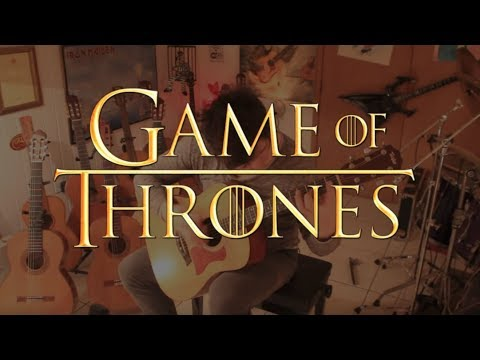 """Game of Thrones Opening Theme on Fingerstyle by Fabio Lima """"HQ"""""""