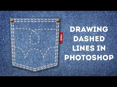 Drawing Dashed Lines In Photoshop