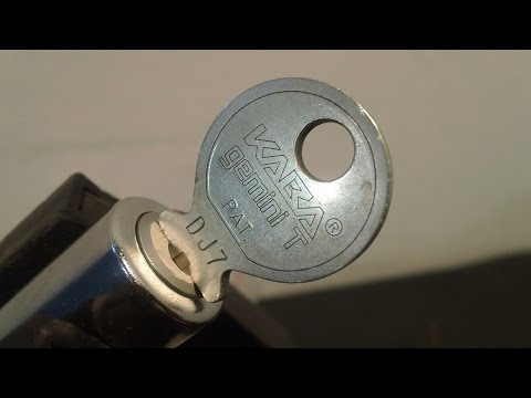 Взлом отмычками KABA Gemini T  Lockpicking Kaba Gemini T