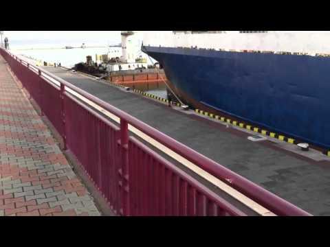 Down on the port Odessa Ukraine
