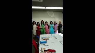 演歌女子ルピナス組 Enka Girls Sing Anak Kambing Saya( Indonesian Song)
