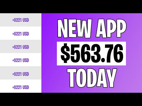 BRAND NEW APP Pays YOU To Do Nothing! (Make Money Online 2021)