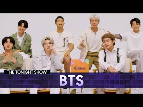 BTSDisheson Touring and Working with Ed Sheeran | The Tonight Show Starring Jimmy Fallon