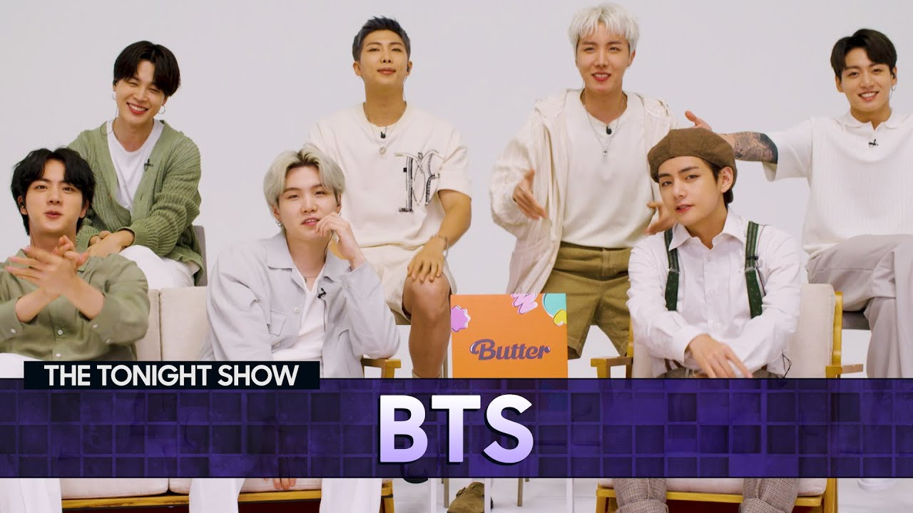 Download BTSDisheson Touring and Working with Ed Sheeran   The Tonight Show Starring Jimmy Fallon