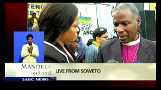 Archbishop Thabo Makgoba calls for dignity and respect for Madiba