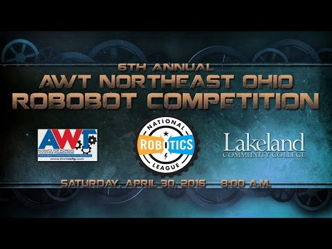 2016 AWT Northeast Ohio Regional RoboBots Competition