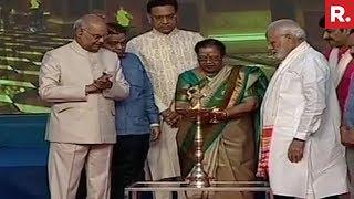 PM Narendra Modi, President Kovind Arrive At Delhi