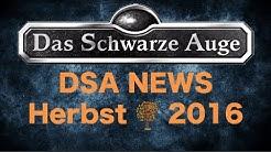 DSA News Herbst 2016 Aventurische Magie | Niobaras Vermächtnis | Regel Wiki uvm.