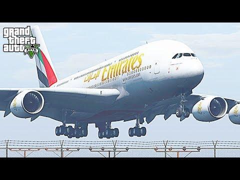 GTA 5 - Los Santos LSIA Plane Spotting #6 (HD)