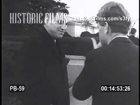 Historic Films Stock Footage Archive Search   rfk 1964 first day