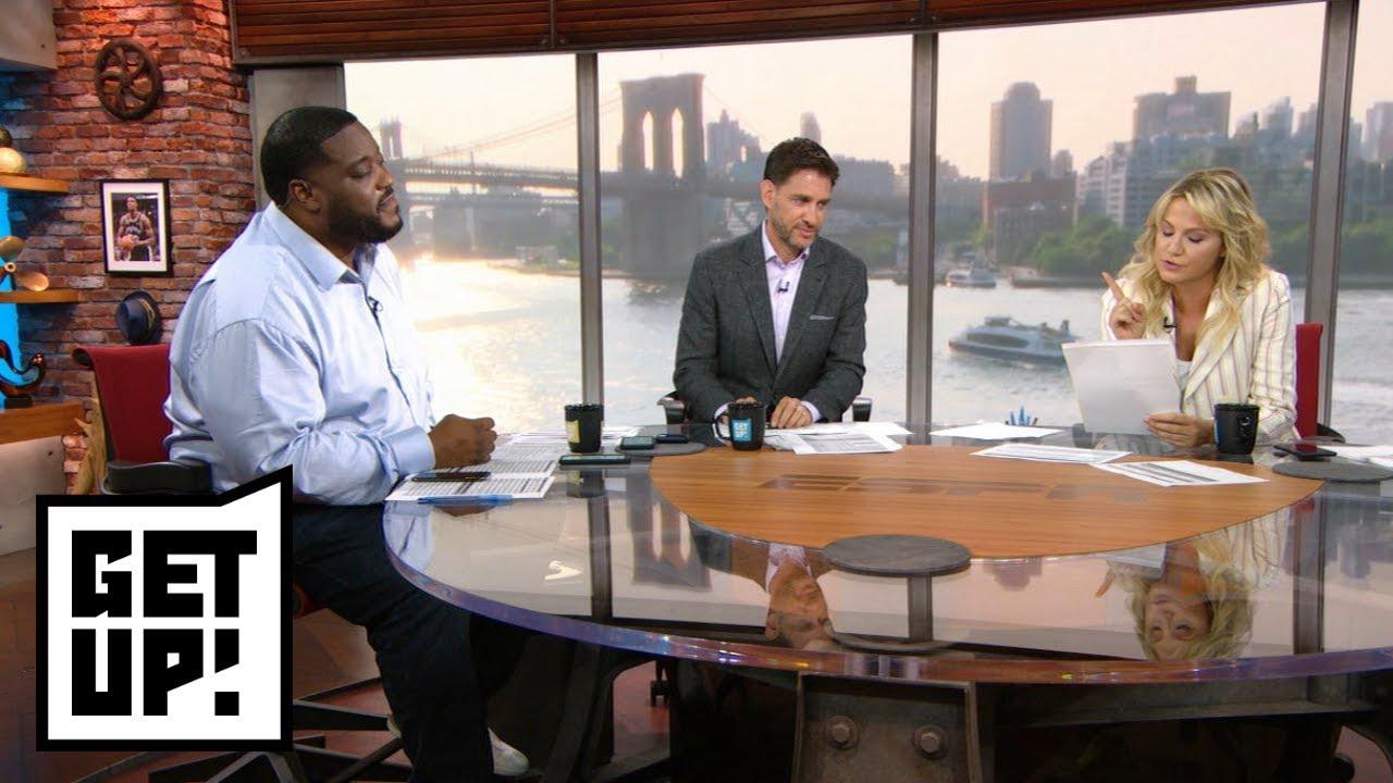 Get Up! reacts to Raptors hiring Kawhi Leonard's close friend to coaching staff   Get Up!   ESPN