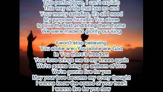 Hilsong   Perfect love with lyrics