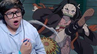 Nezuko's Own Strength | Demon Slayer Kimetsu no Yaiba Episode 10 Live Reaction & Review