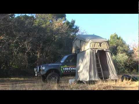 ironman tente de toit et equipements 4x4 youtube. Black Bedroom Furniture Sets. Home Design Ideas