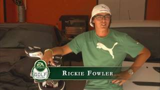 EA Sports Video: Rickie Fowler At Home