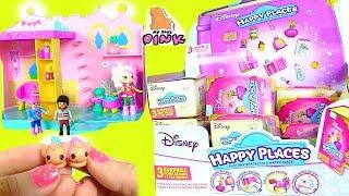 #Сюрпризы HAPPY PLACES + Disney ТАПОЧКИ для Кукол! СБЕЖАВШАЯ НЕВЕСТА! Мультик Шопкинс на Русском