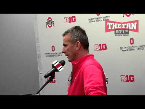 Ohio State Buckeyes Coach Urban Meyer 11-23-15