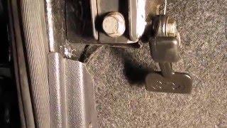 Как сделать универсальный кронштейн открывания капота?
