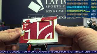 2018 Panini Immaculate Baseball Hobby 8 Box Case Break #15 – RANDOM TEAMS
