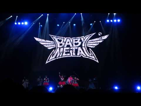 Baby Metal Live in Summer Sonic 2014