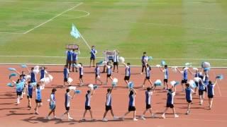 第51屆周年陸運會藍社啦啦隊表演
