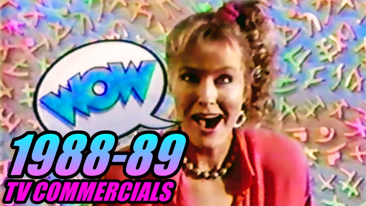 Download Half-Hour of 1988-89 TV Commercials - 80s Commercial Compilation #4