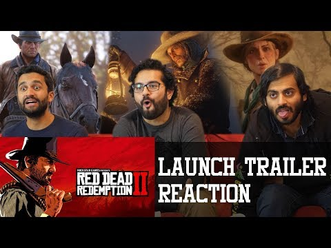 Red Dead Redemption 2 - Launch Trailer Reaction
