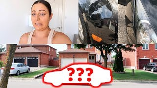VLOG - My Car Was Hit & New Car!? Plateau/Deficit Real Talk!