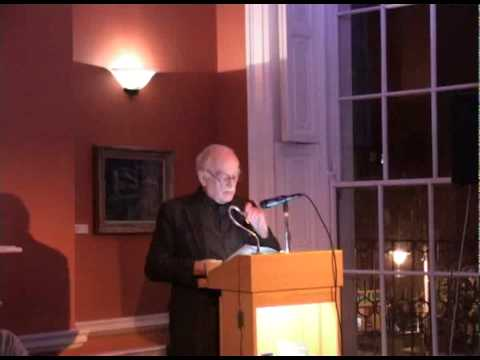 Thomas Kilroy Reads  at The Irish Writers Centre as part of Peregrine Reading Series 2011