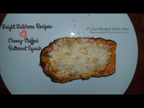 weight-watchers-recipes:-cheesy-stuffed-butternut-squash